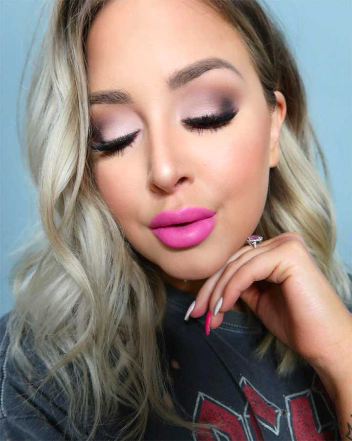 Pale Pastel Pink lipstick