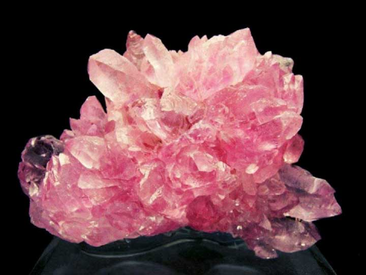 Rose Quartz - crystals for anxiety and stress