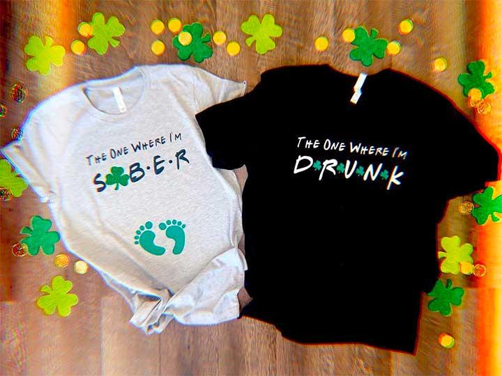 Shamrock Shirts, Cardigan & St. Patrick's Day Paraphernalia Celebrate Holiday