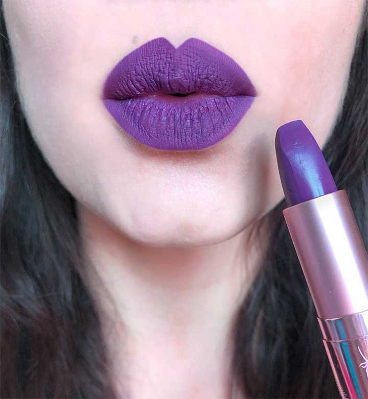best dark purple lipstick
