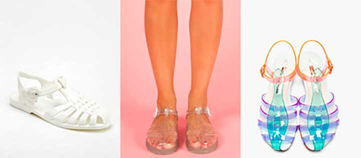 jelly shoes brand