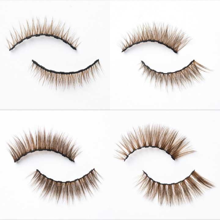 strip lashes vs individual lashes