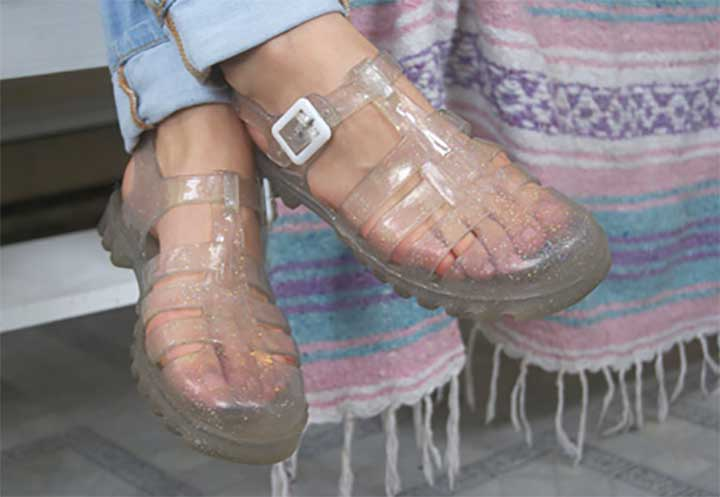 womens jelly shoes sale