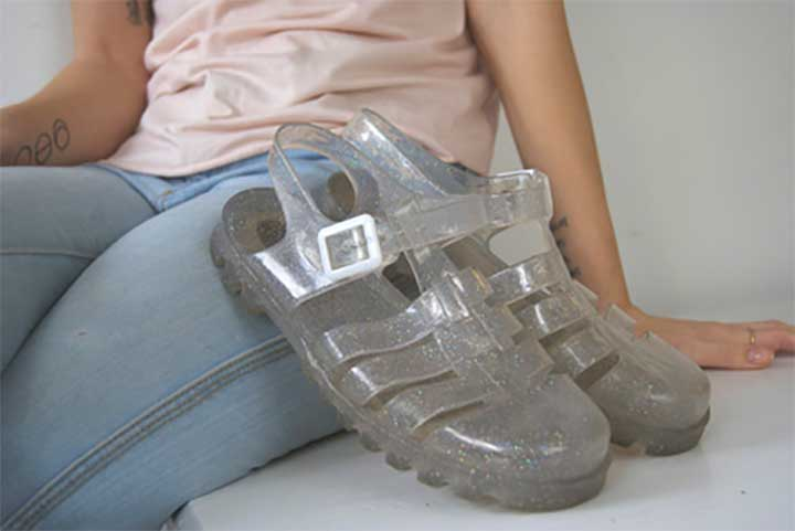 women's jelly shoes